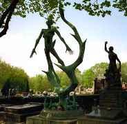 Pére Lachaise Cemetery Paris