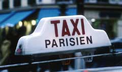 paris airport taxi